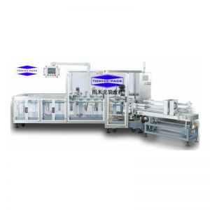 Vertical packing machine for oral